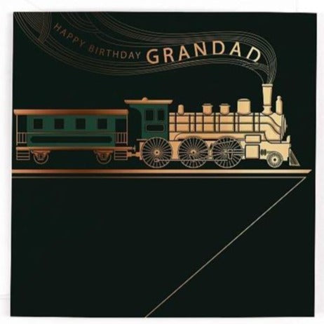Grandad Train Birthday Card