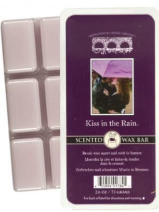 Kiss In The Rain Scented Wax Bar