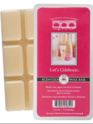 Let's Celebrate Scented Wax Bar