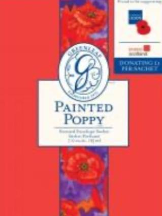 Scented Sachet -Painted Poppy