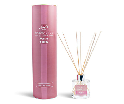 Reed Diffuser Large - Rhubarb and Peony