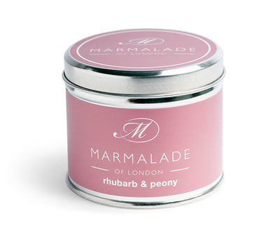 Candle Tin - Rhubarb and Peony