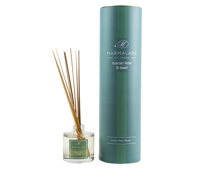 Reed Diffuser Large - Tuscan Lime and Basil