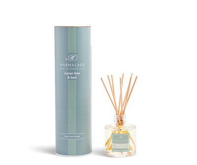 Reed Diffuser Small - Tuscan Lime and Basil