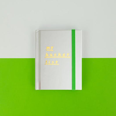 My Bucket List Mini Notebook