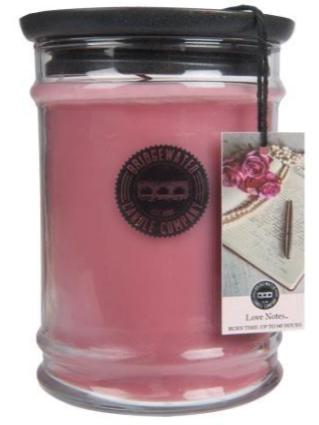 Candle Jar - Bridgewater Love Notes