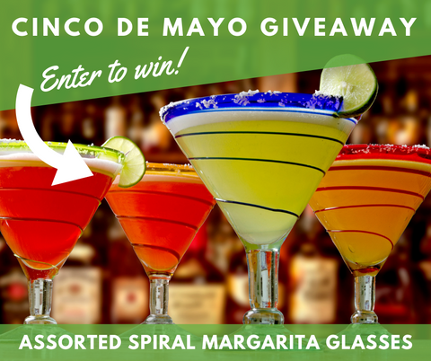 Orion Cinco De Mayo Margarita Glasses Giveaway