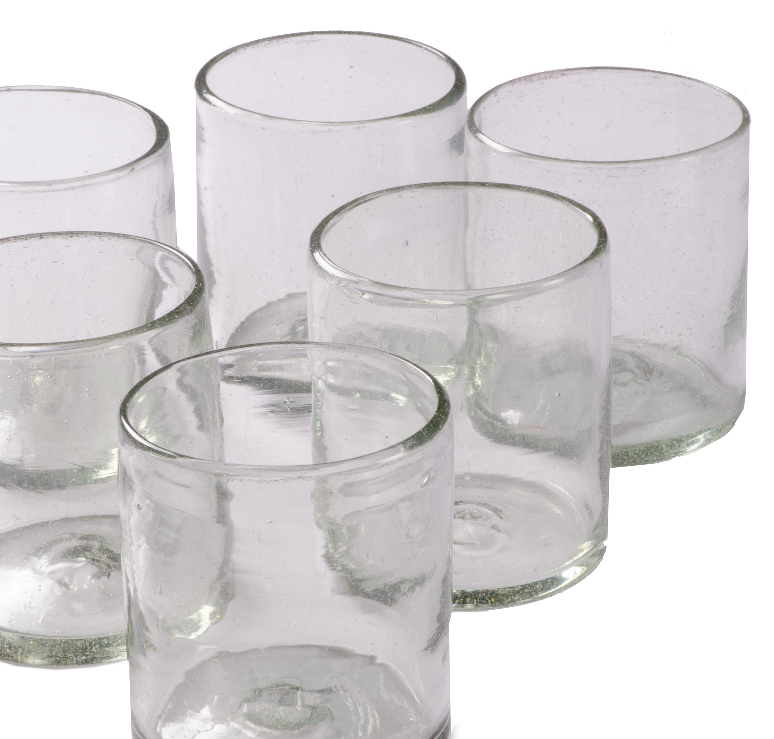 Orion Natural 12 oz All Purpose - Set of 6 - Orion's Table Mexican Glassware