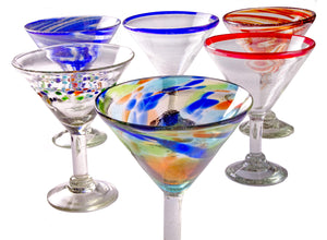 Orion Party Pack 15 oz Classic Margarita - Set of 6 - Orion's Table Mexican Glassware