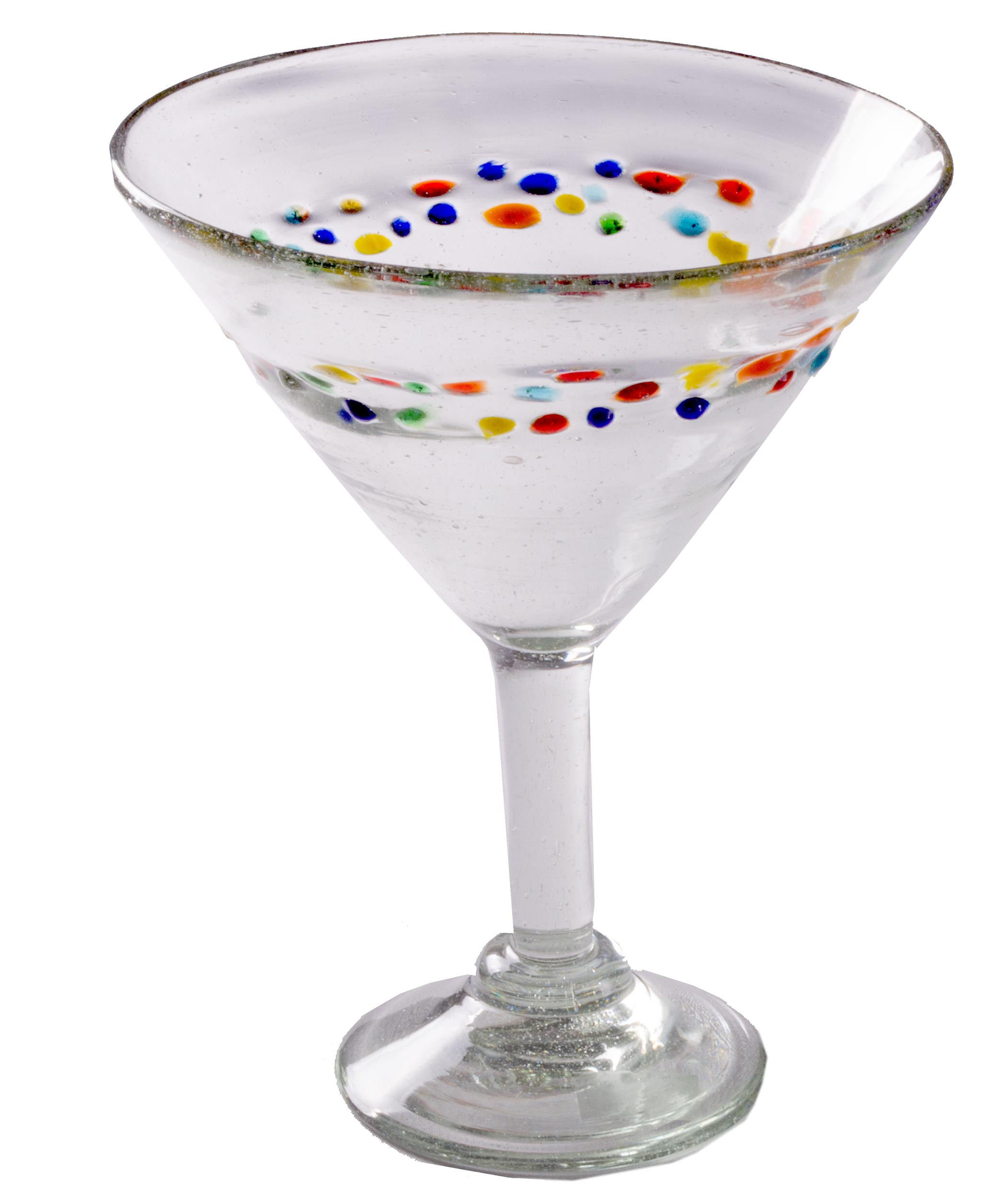 Orion Tutti Frutti 15 oz Classic Margarita - Set of 4 - Orion's Table Mexican Glassware