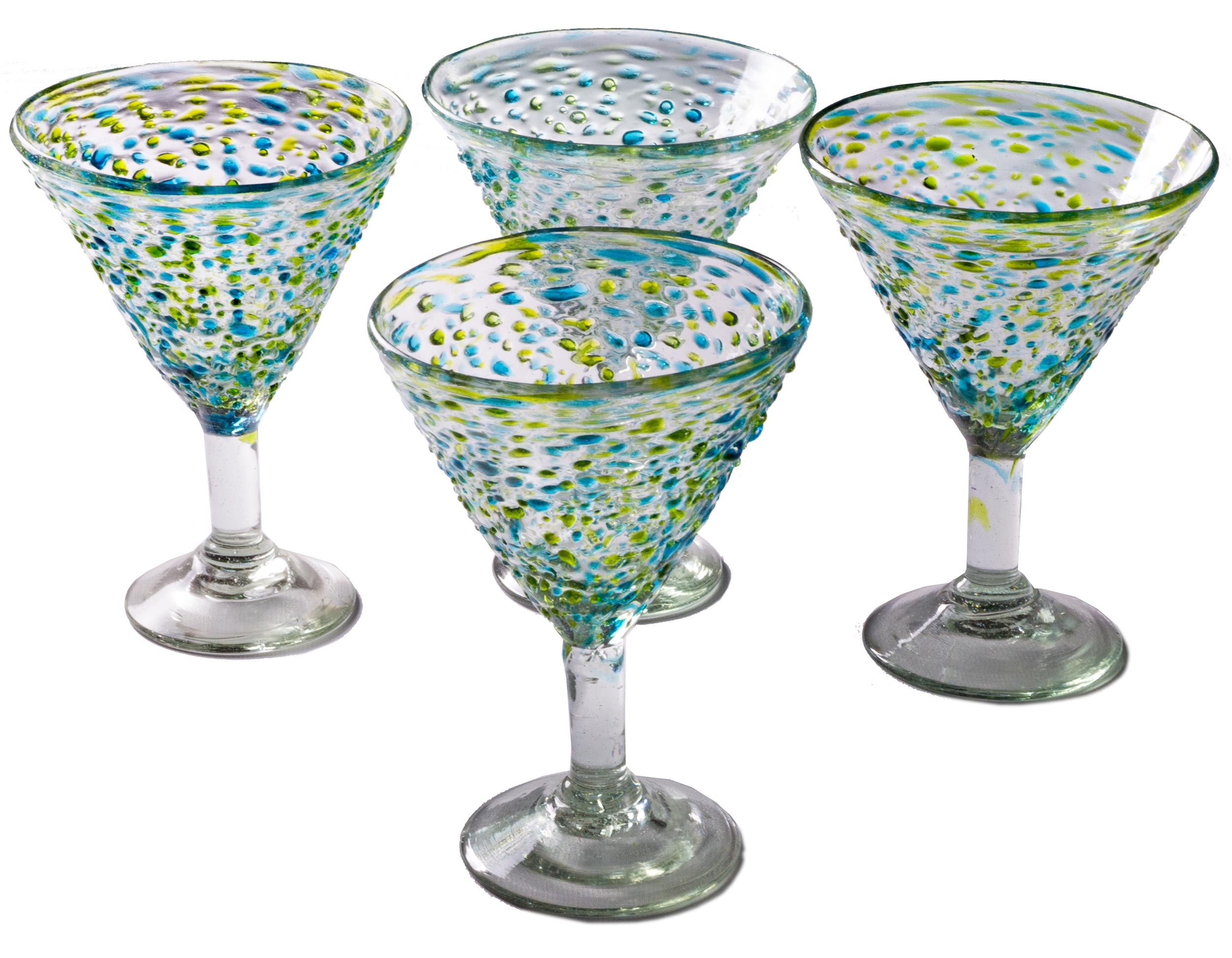 Orion Del Mar 15 oz Margarita - Set of 4 - Orion's Table Mexican Glassware