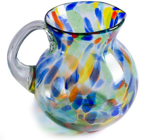 Orion Solid Confetti 80 oz Bola Pitcher - Orion's Table Mexican Glassware