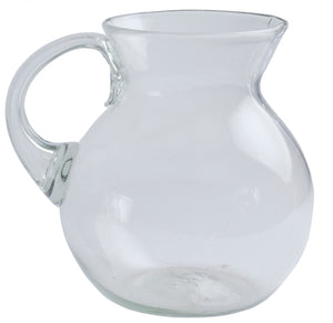 Orion Natural 80 oz Bola Pitcher - Orion's Table Mexican Glassware