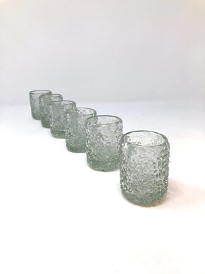 Orion Ice Shot Glass - Orion's Table Mexican Glassware