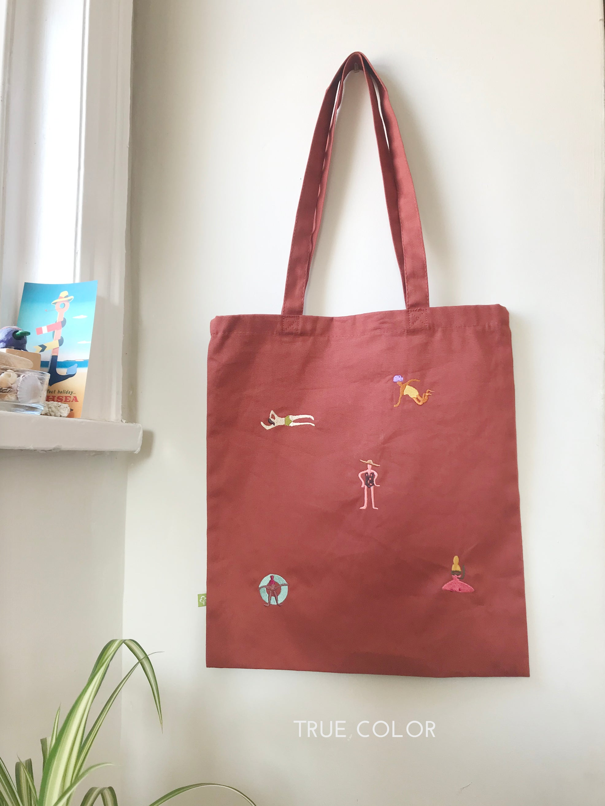 Beach time tote (teracotta)