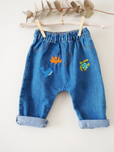 Baby Sea denim Leggings