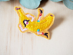 Fruit brooches