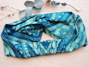 Green bandana Swimmer headband