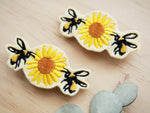 Bee hair barrette