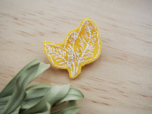 Mini Leaf Brooch