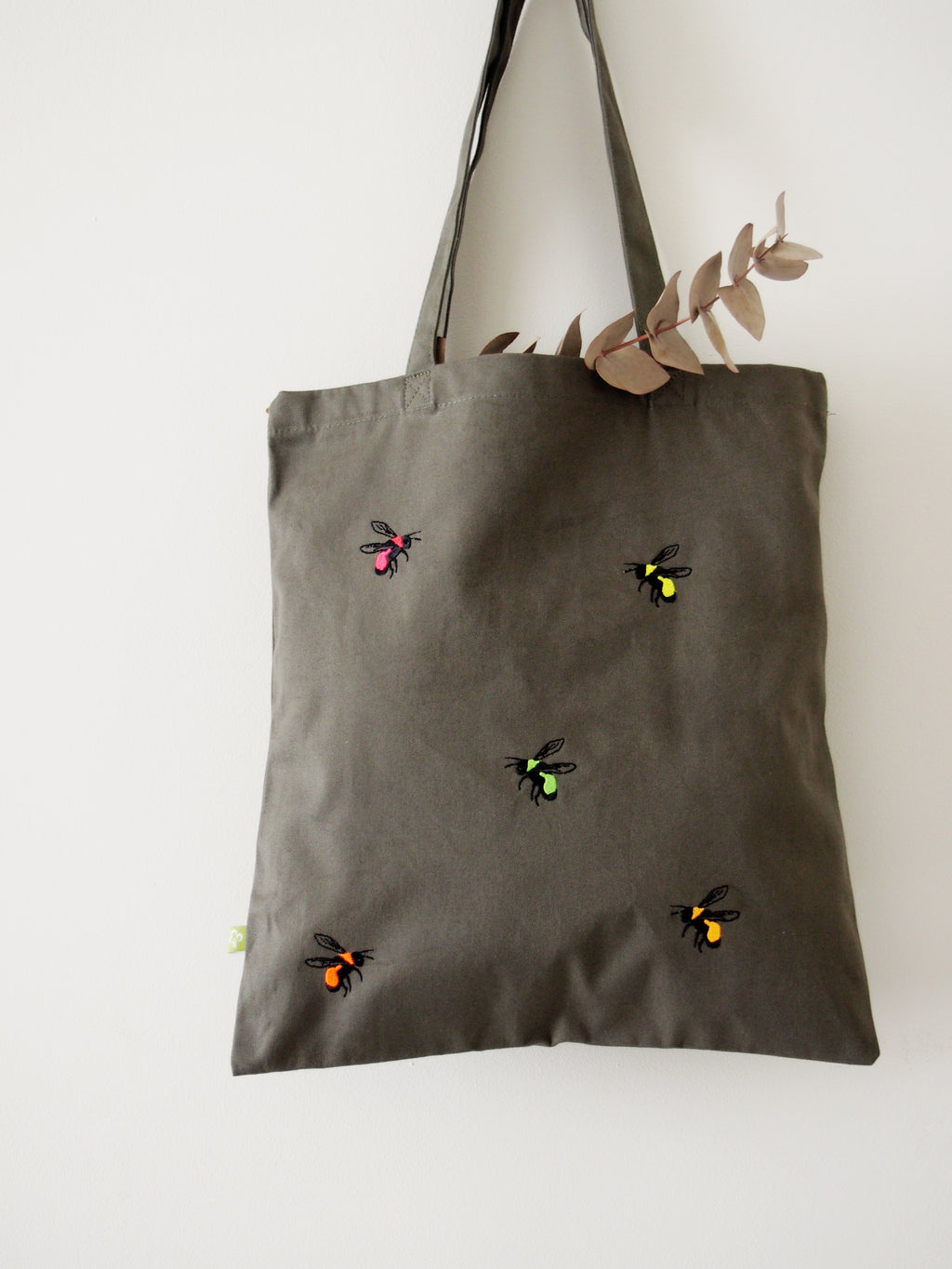 Neon Bees Tote