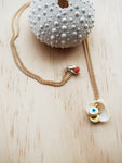 Shell Evil Eye Necklace