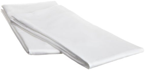 Hospitality Luxury Soft 2-Piece Set King Size Pillow Cases Of 100-Percent Microfiber Constuction In White, 20X40