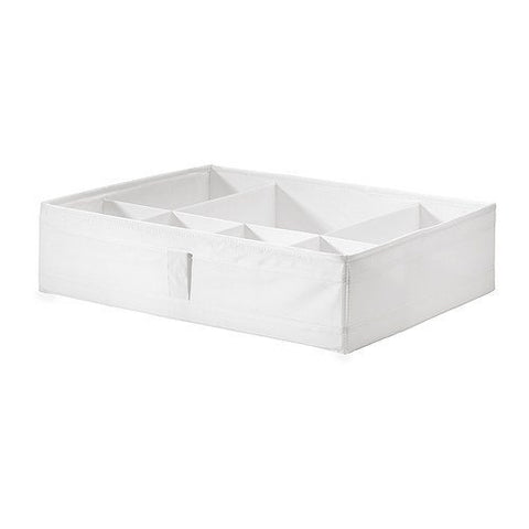 Ikea Skubb Box With Compartments, Chest Of Drawers Or Wardrobe Storage Organization Units For Pax , White