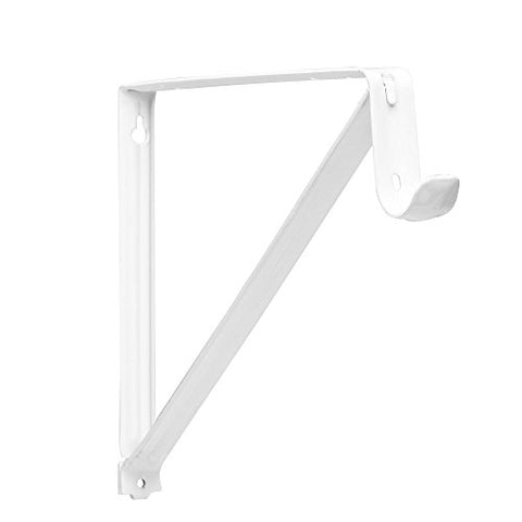 Closet-Pro Rp-0045-Wt Shelf And Rod Closet Bracket, White