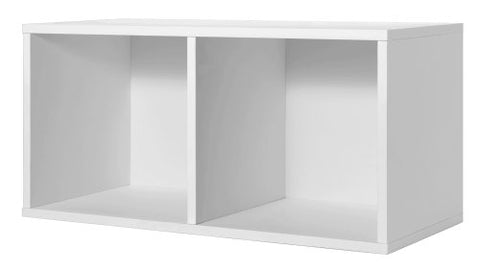 Foremost 327801 Modular Large Divided Cube Storage System, White