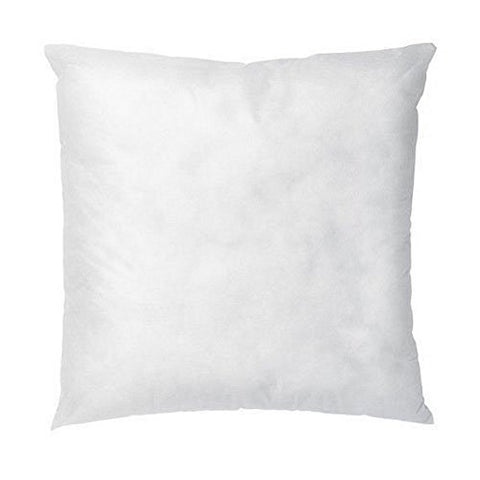 Izo All Supply Square Sham Stuffer Hypo-Allergenic Poly Pillow Form Insert, 16 L X 16 W