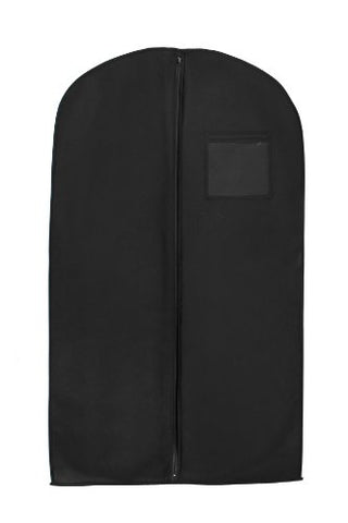 New Breathable 54  Suit/Dress Black Garment Bag By Bags For Less