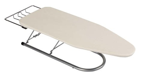 Household Essentials Steel Table Top Small Ironing Board With Iron Rest, 12-Inch X 30-Inch