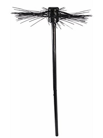 36  Black Halloween Costume Accessory 1800S Revolution Chimney Sweep Broom
