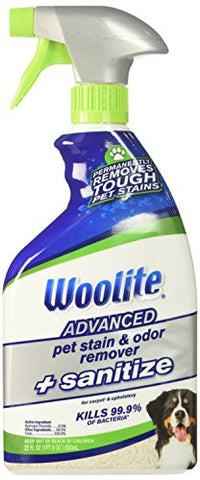 Woolite Advanced Pet Stain & Odor Remover + Sanitize, 11521 (22Fl Oz)
