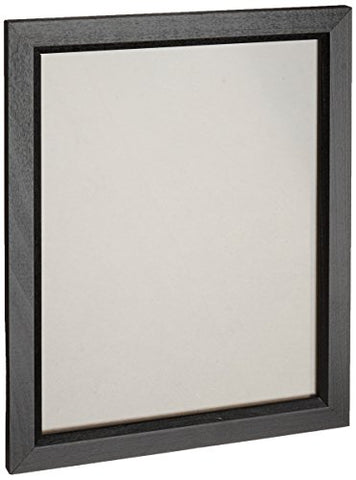 Craig Frames 7171610Bk 8.5 By 11-Inch Picture/Poster Frame, Wood Grain Finish, .825-Inch Wide, Solid Black