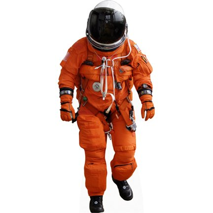 H69004 Nasa Aces Astronaut Space Suit Cardboard Cutout Standup