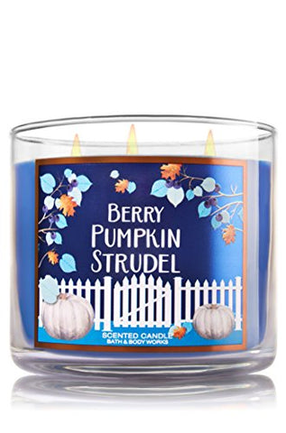 Bath And Body Works Berry Pumpkin Strudel Candle
