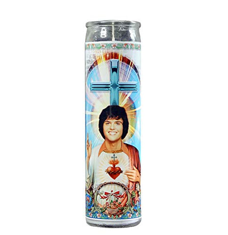 My Pen15 Club Donny Osmond Celebrity Prayer Candle