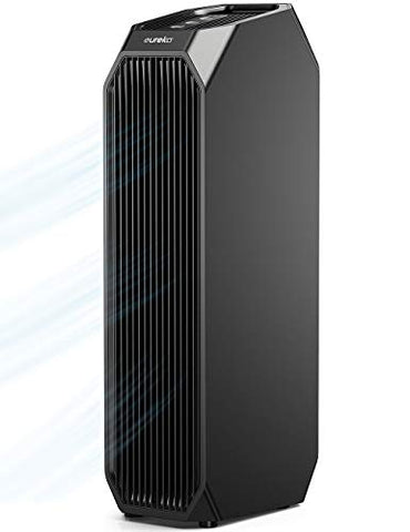 Eureka Instant Clear Nea120 Air Purifier, 3-In-1 Ultra Silent Air Cleaner With True Hepa Filter, Carbon Activated Filter And Uv Led