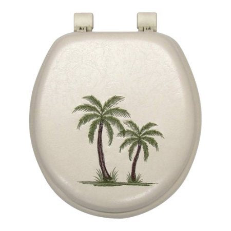 Palm Tree Soft Toilet Seat Wlm