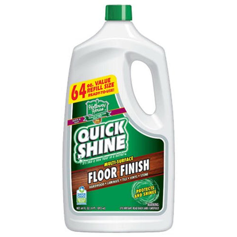 Quick Shine Multi-Surface Floor Finish, 64-Ounce Bottle