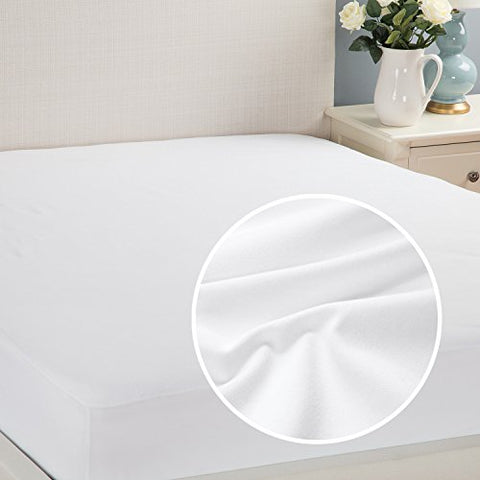 Waterproof Mattress Protector Twin Hypoallergenic Soft Terry Dust Mite Resistant Breathable By Bedsure