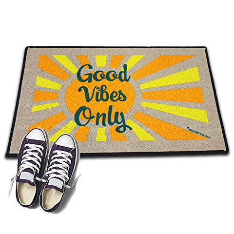 High Cotton Welcome Doormat -Good Vibes Only