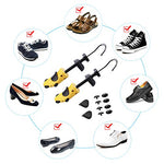 Miserwe Shoe Stretcher With Carrying Bag Pair Of Premium Two Way Shoe Stretchers Adjustable Length And Width Shoe Stretcher Women Tough Plastic Unisex Shoes Stretcher For Men And Women(Small)