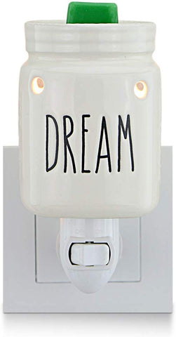 Star Moon Plug In Warmers For Wax Melt, Pluggable Home Fragrance Diffuser, No Flame, With One More Bulb, Mason Jar, Dream