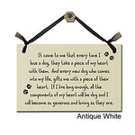 It Came To Me That Every Time I Lose A Dog, They Take A Piece Of My Heart With Them...... - Decorative Sign