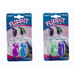 Flippit, Antibacterial Toothbrush Head Covers For An Ultra Clean Toothbrush, 2Pk, Colors May Vary