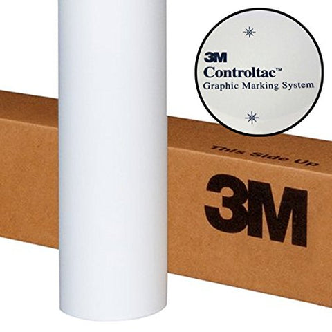 3M Controltac Translucent White Frosted Privacy Window Vinyl Roll (17.9  X 48 )