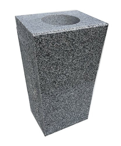 Granite Vase Tapered (5 X4 X9 ) Gray